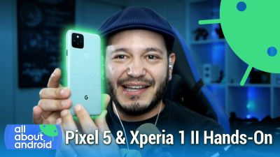 Pixel 5 First Look - Sony Xperia 1 II & TicWatch Pro 3 Hands-On
