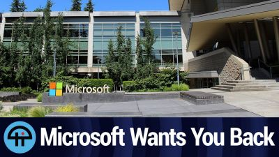 Microsoft: Come Back to Work