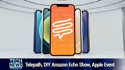 Telepath, a Knock-off Amazon Echo Show, Apple's iPhone Event