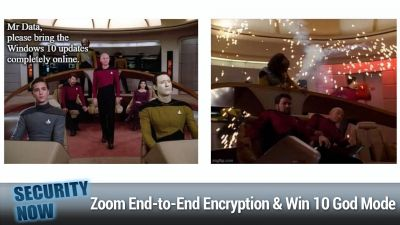 Zoom End-to-End Encryption, Windows 10 God Mode, Manifest v3