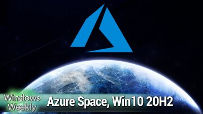 Azure in SPAAACE!