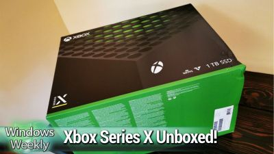 Microsoft Earnings, Xbox Series X Unboxing