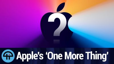 "Apple will announce ""One More Thing"" on 11/10"