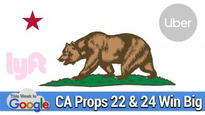 Baby Shark, CA Props 22 & 24 Win Big