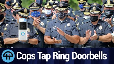 Cops Tap Ring Doorbells
