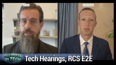 Tech hearings, streaming Windows, RCS encryption