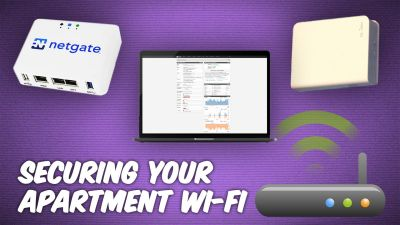 Insecure Apartment-Provided WiFi - How To Stay Safe a Public Network