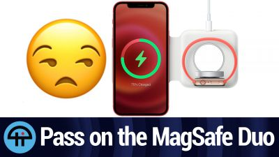 Pass on Apple's MagSafe Duo Charger