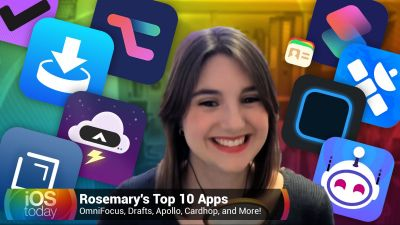 Rosemary's Top 10 Apps - OmniFocus, Drafts, Apollo, Cardhop, and More