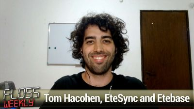 Tom Hacohen, EteSync and Etebase