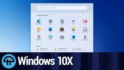 Windows 10X Leaks!