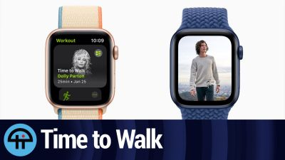 Time to Walk: Apple Watch's Fitness+ Feature