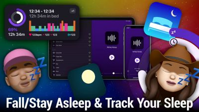 Fall Asleep, Stay Asleep, Track Your Sleep With These Apps - Dark Noise, Autosleep, Pillow, and More