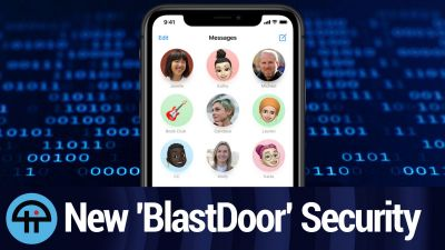 Messages' New 'BlastDoor' Security System Found in iOS 14
