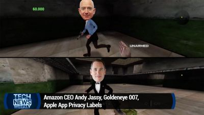 Amazon CEO Andy Jassy, Goldeneye 007, Apple App Privacy Labels