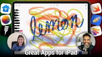 Great Apps for iPad - Paper, Notability, Tayasui Sketches, Pixelmator Photo, and more!