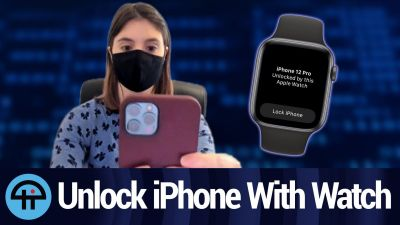 Unlock Your iPhone With Your Apple Watch in iOS 14.5