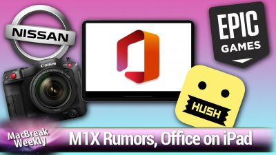 Rumors: an M1X chip, Apple's still-rumored car, and AirTags in March.