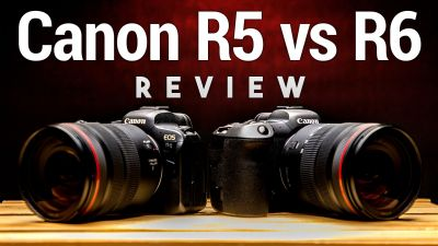 Canon EOS R5 vs. R6 Review - Is the Extra $1,400 Worth It?