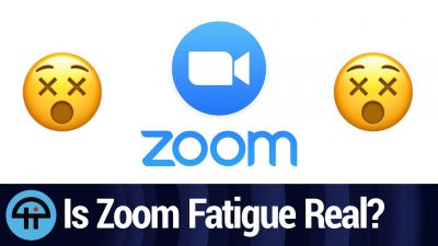 Is Zoom Fatigue Real?