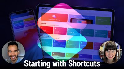 Starting With Shortcuts - How to use Siri Shortcuts & the Shortcuts app
