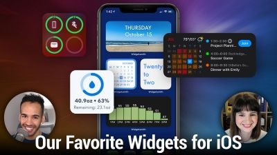 Our Favorite Widgets for iOS - Drafts, Widgetsmith, Fantastical, and more.