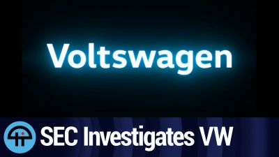 Voltswagen Fallout Leads to SEC Investigation