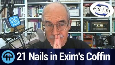 21 Nails in Exim's Coffin