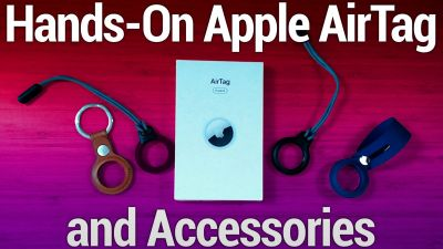 Hands-On AirTag & AirTag Accessories  - Apple's $29 Location Tracker