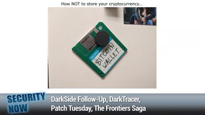 DarkSide Follow-Up, DarkTracer, Patch Tuesday, The Frontiers Saga