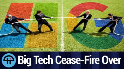 Google and Microsoft: Cease-Fire Over