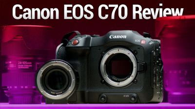 Canon EOS C70 Review - Great Entry-Level 4K Cinema Camera