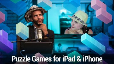 Perplexing Puzzle Games for iPad & iPhone - Tetris, Blackbox, Nonogram Color, pink (game), and more
