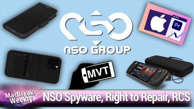 Steam Deck, NSO spyware, right to repair, RCS vs. SMS