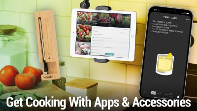 Get Cooking With These Apps & Accessories Meater+, HoverBar Duo, Crouton, Paprika 3, and more
