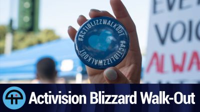 Activision Blizzard Walk-Out