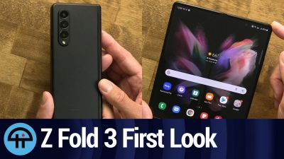 Z Fold 3 First Look