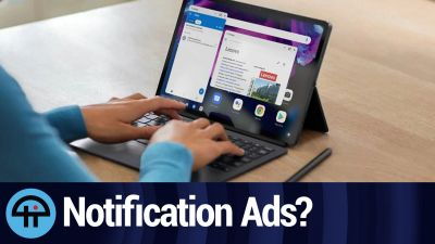 Are Notification Ads a Nuisance?