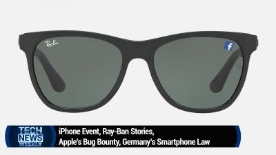 iPhone Event, Ray-Ban Stories, Apple's Bug Bounty, Germany's Smartphone Law
