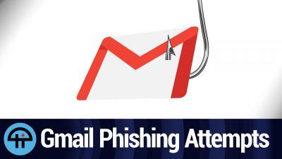 Gmail Phishing Attempts