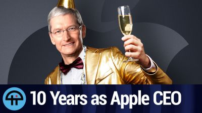 A Look at Tim Cook's Decade as Apple CEO