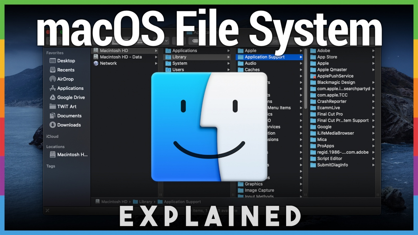 Inside the macOS File System