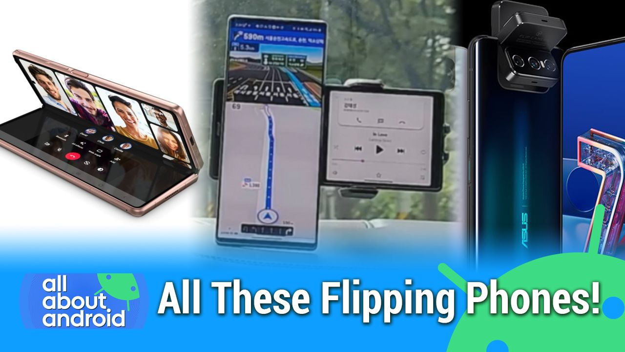 AAA 488: All These Flipping Phones! - Galaxy Z Fold 2, ZTE Axon 20 5G, LG Wing, OnePlus Clover, Fairphone 3+