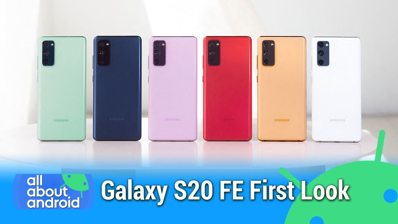 AAA 492: Galaxy S20 FE First Look - Galaxy Tab S7 Plus review, Android 12 and app stores, Royole Flexpai 2