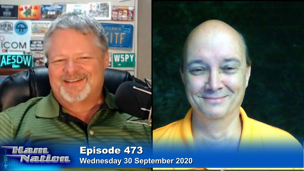 HN 473: Tennessee Linked Repeaters - Kevin W4KEV and his repeaters, free learning resources from Gordo, Dixie Cup speaker