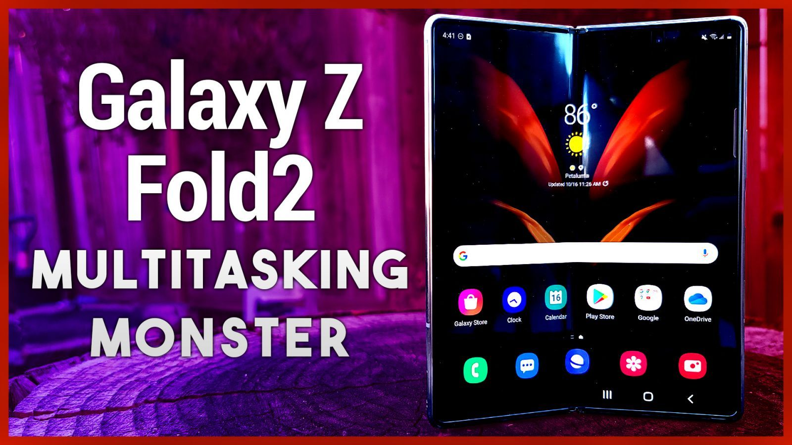 Galaxy Z Fold2 Review - Samsung's $2,000 Folding Phone More Than a Gimmick?