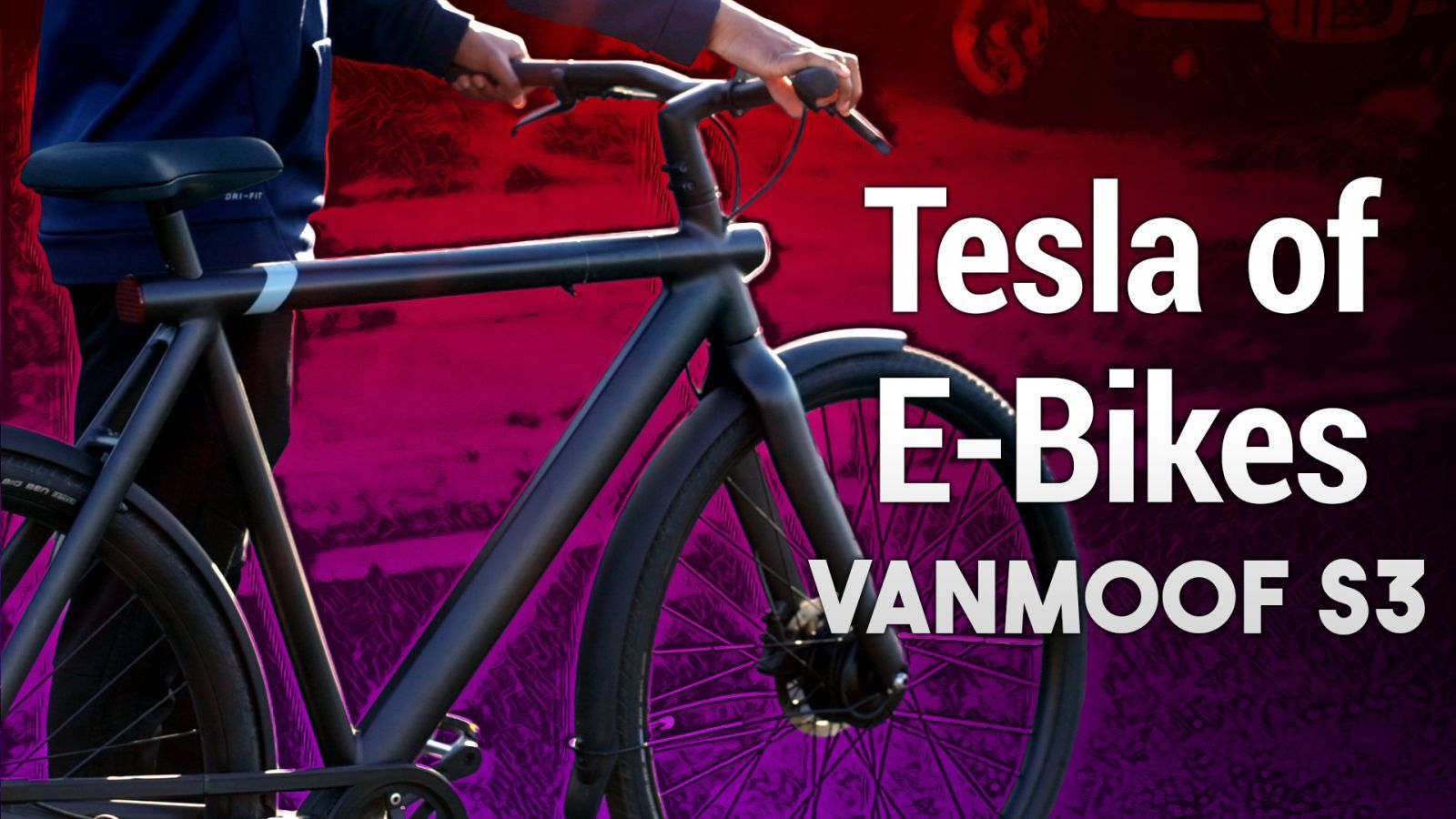 VanMoof S3 Hands-on - The Telsa of E-Bikes