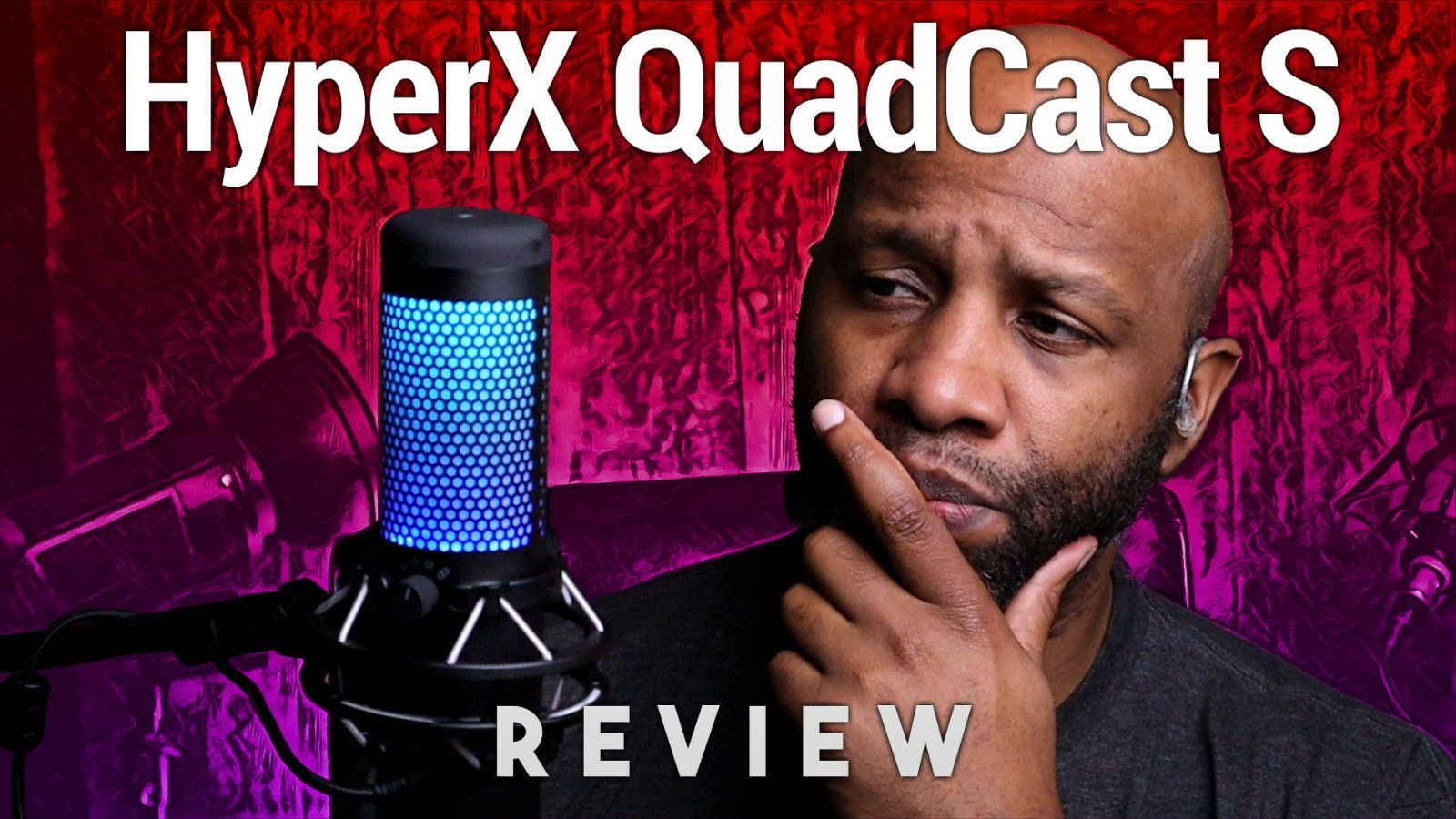 HyperX QuadCast S Review - USB Microphone With Dynamic RGB Lighting Effects