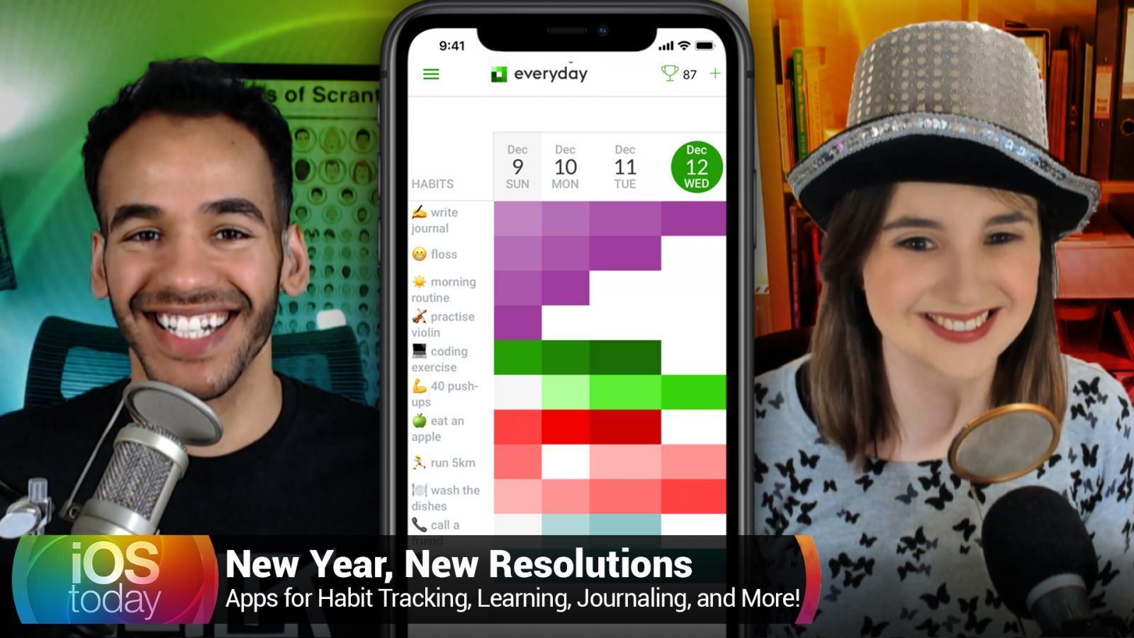iOS 532: New Year, New Resolutions - Apps for Habit Tracking, Language Learning, Journaling, Coding, and More!