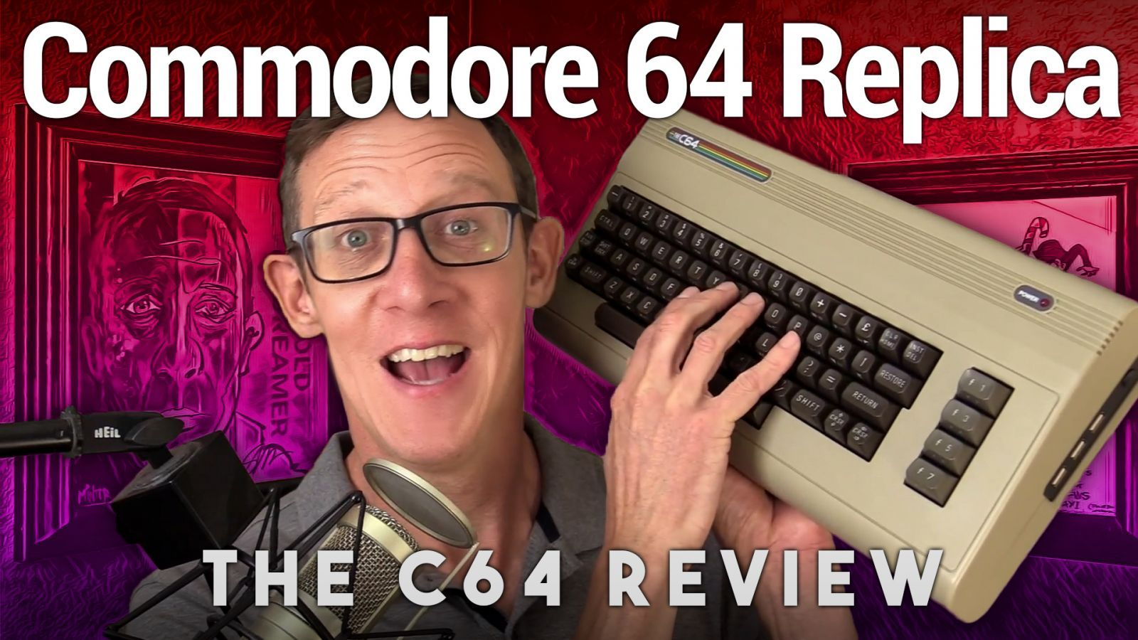 The C64 'Maxi' Review - Full-Sized Commodore 64 Replica